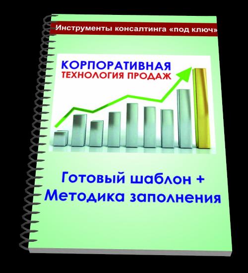 Шаблон корпоративной книги технологи продаж